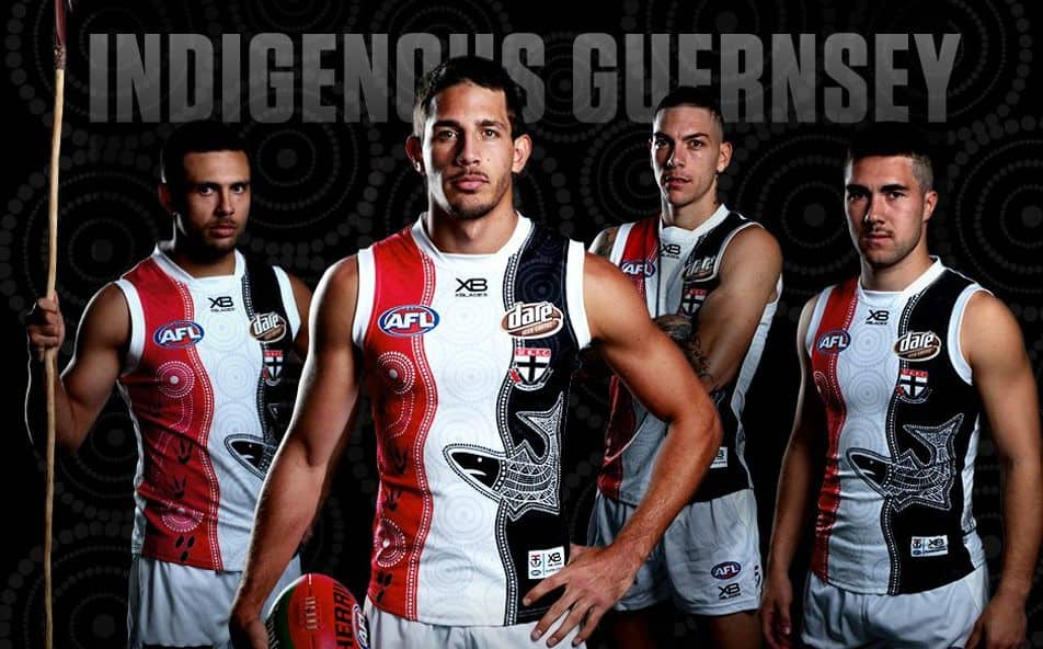 Saints Unveil 2019 Indigenous Guernsey